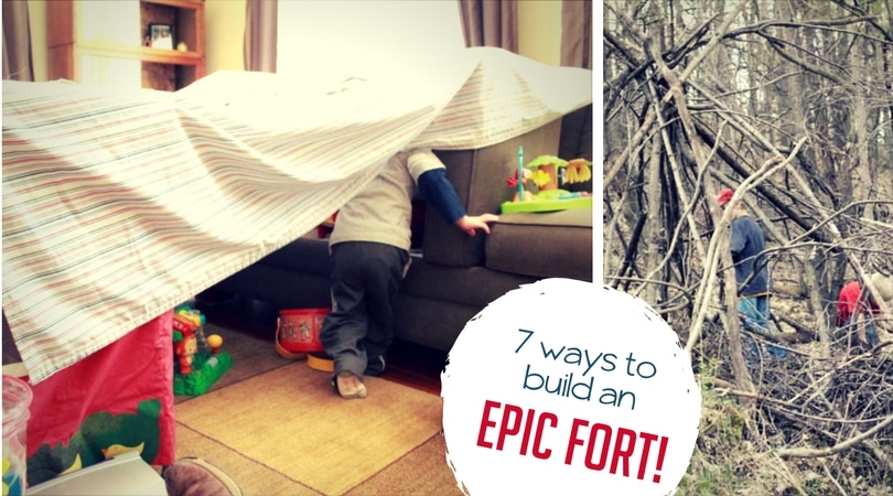 7 Epic Forts For Kids