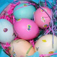 Simple Sticker Eggs