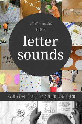 12 Phonics Activities for Kids Learning to Read