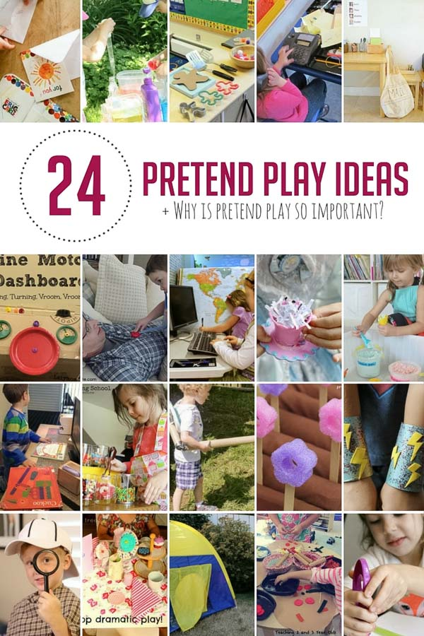 Some not-so-extravagant pretend play ideas to help engage your child's imagination.