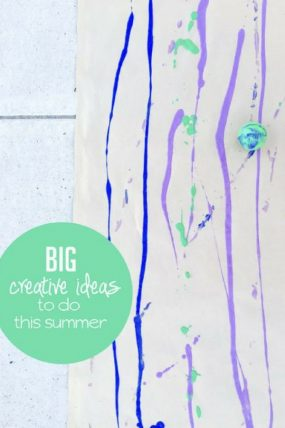 7 Summer Art Projects to Do Outside