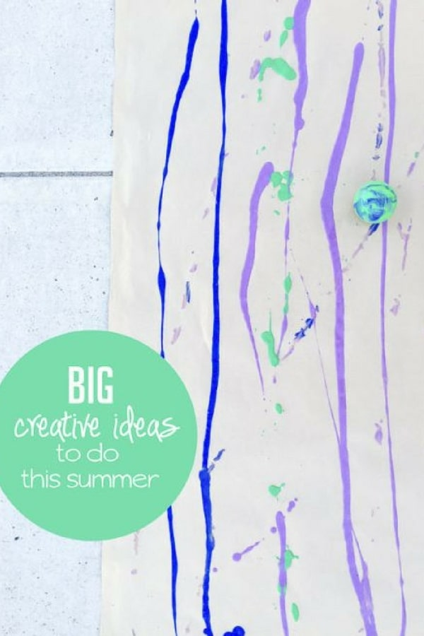 7 Summer Art Projects To Do Outside Hands On As We Grow