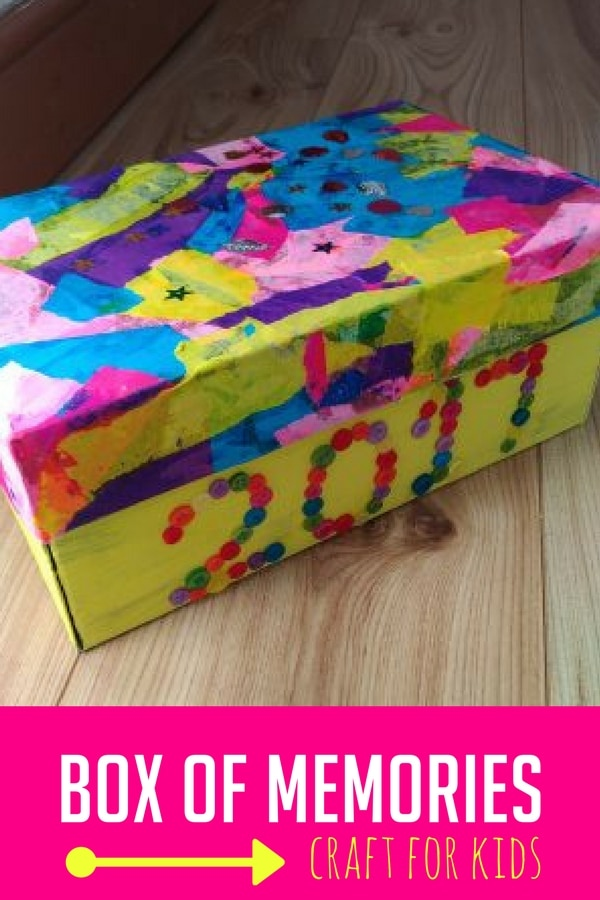 Kids have so many drawings, crafts, and special trips. This simple DIY box of memories will help keep those memories alive!