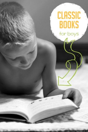 10 classic books for boys to read or listen to on audiobook