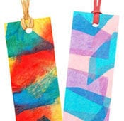 Stained Glass Bookmarks