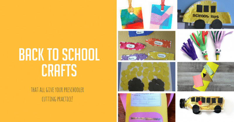 24 Back to School Crafts a Cut Above the Rest | Hands On As