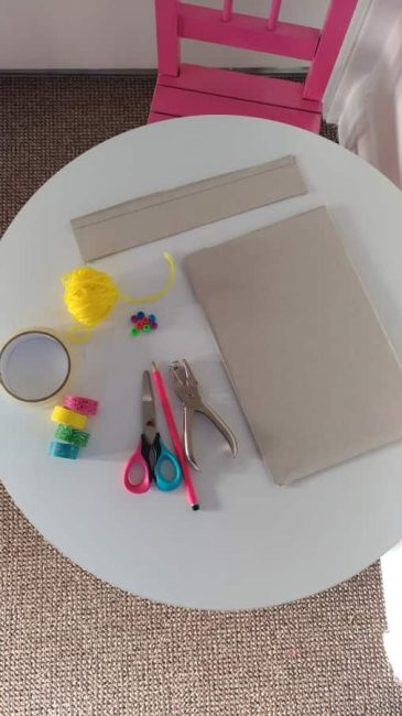 Make a DIY hand drum with supplies around the house