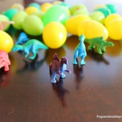 Dinosaur Egg Scavenger Hunt- Frogs Snails and Puppy Dog Tails