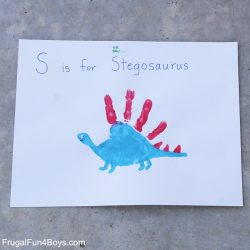 Hanprint Dinosaurs - Frugal Fun 4 Boys