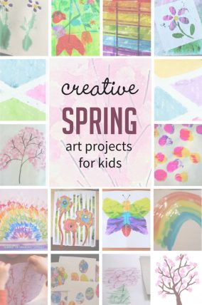 Create these 27 spring art projects for kids to bring the season into your home!