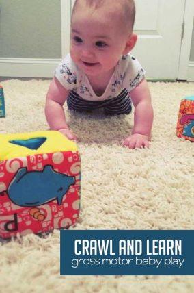 Gross motor activities for kids for Gross motor skills for infants