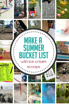 Make an ice cream scoop list to plan your spring and summer family fun