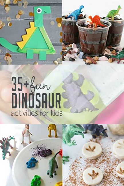 35 Dinosaur Activities For Kids