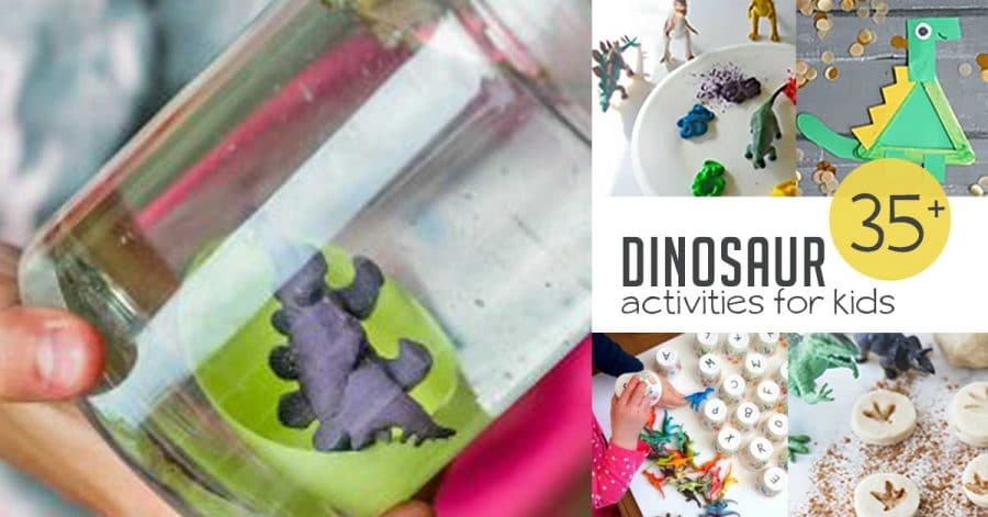 35+ Dinosaur Activities for Kids | Hands On As We Grow®