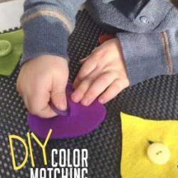 Hands On As We Grow- DIY Color Matching Mat