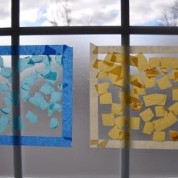 Hands On As We Grow- Sticky Window Color Matching Activity