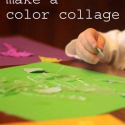 Hands On As We Grow- Super Simple Color Collage