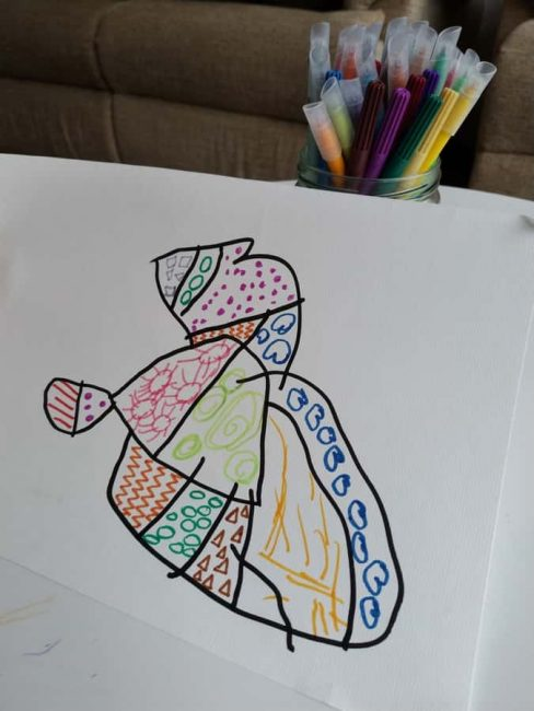 Let your child's creativity soar with Zentangle drawings!