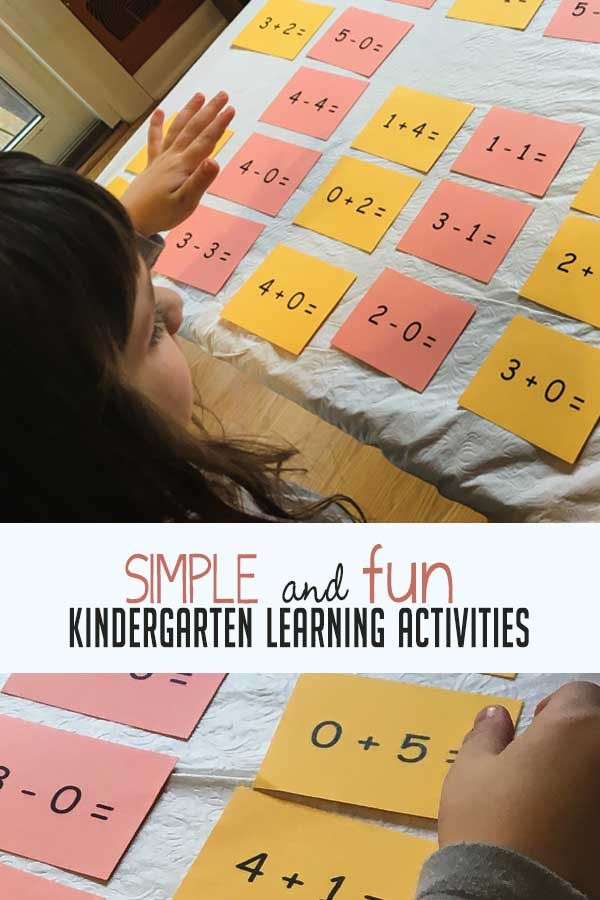 Simple And Fun Kindergarten Learning Activities Hoawg