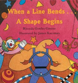 When a Line Bends...A Shape Begins teaches preschoolers about shapes