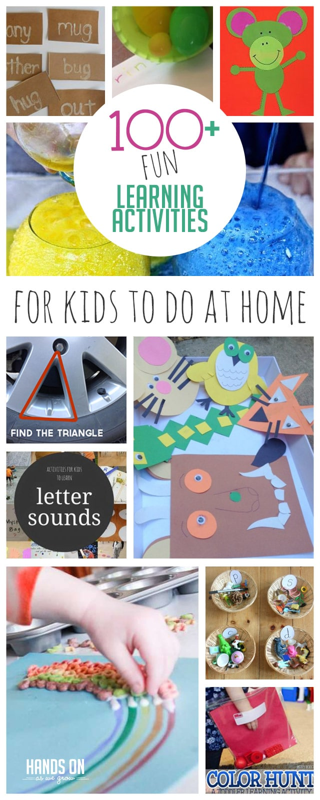 Your kids will love these easy and fun learning activities for kids to do at home!