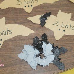 Bat Counting Activity- Mom to 2 Posh Lil Divas