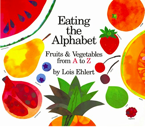 Discover yummy fruits and vegetables for every letter of the alphabet to enjoy with your child!