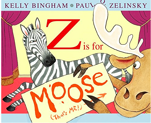 Watch how a group of animals put on an alphabet show together in this funny picture book.