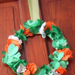 Shamrock Wreath- Hands On As We Grow