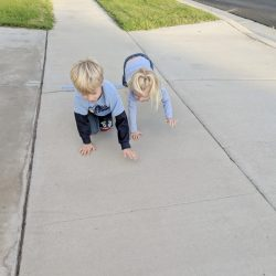 Noun or Verb Gross Motor Crawling
