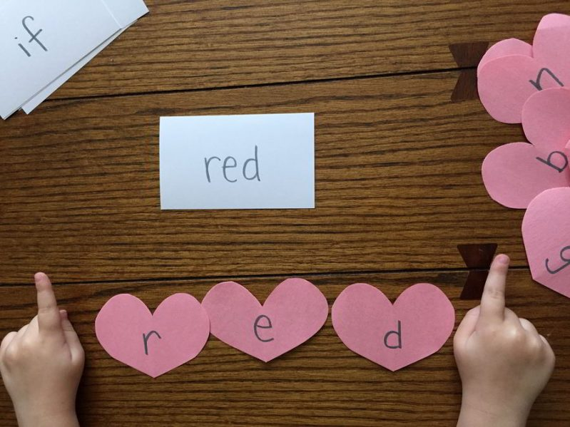 Try this simple sight word activity for Valentine's day to keep learning engaging and lighthearted.