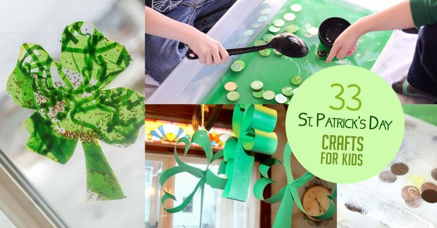 33 St Patrick S Day Crafts For Kids That Boost Fine Motor Skills