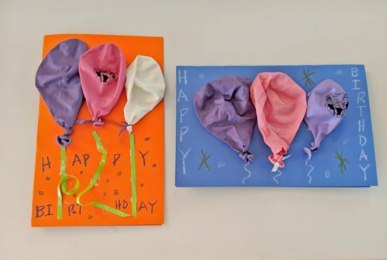 Your DIY Balloon Birthday Card Craft Will Add A Pop Of Fun To The Party