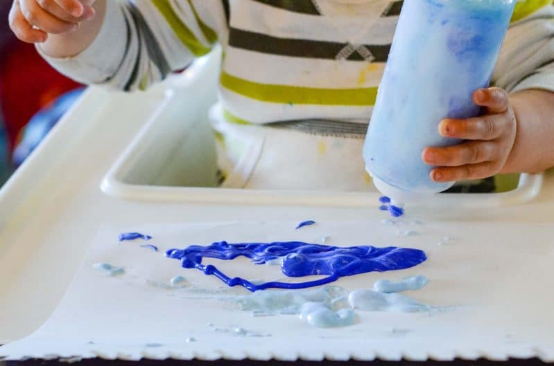 We loved this easy to adapt DIY puffy paint recipe. How do you mix up your homemade paint recipes?