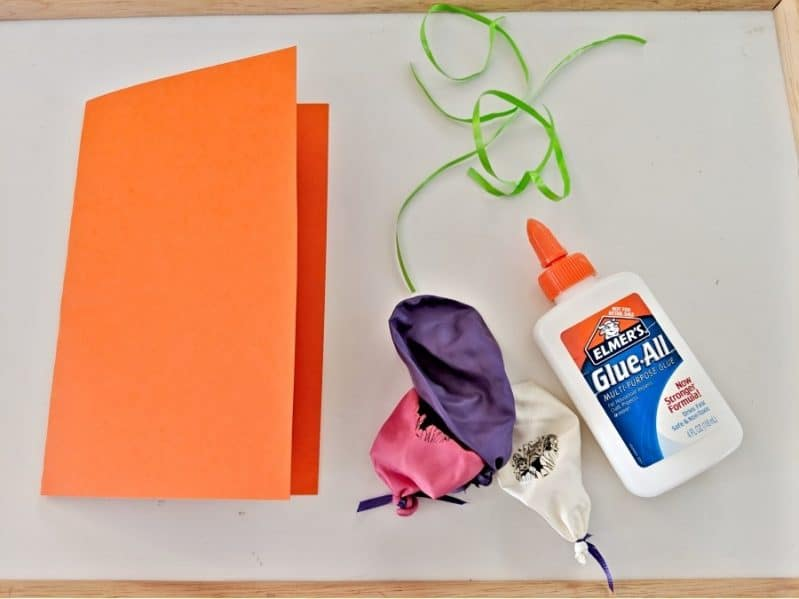 Simple Diy 3d Balloon Birthday Card Craft For Kids Hands On As We