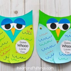 Owl Card- I Heart Crafty Things