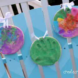 Salt Dough Handprint-Create Craft Love