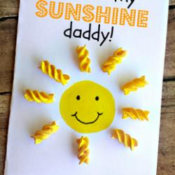 Sunshine Noodle Card- Crafty Morning