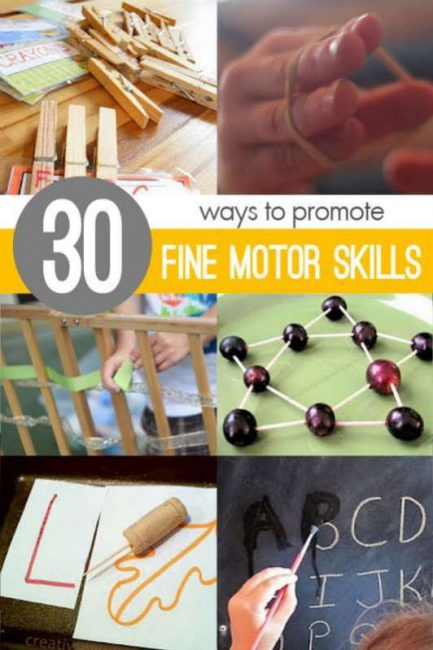 Improve Kids Fine Motor Skills With 30 Materials Amp Activities