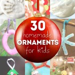 30 Homemade Ornaments for the Kids