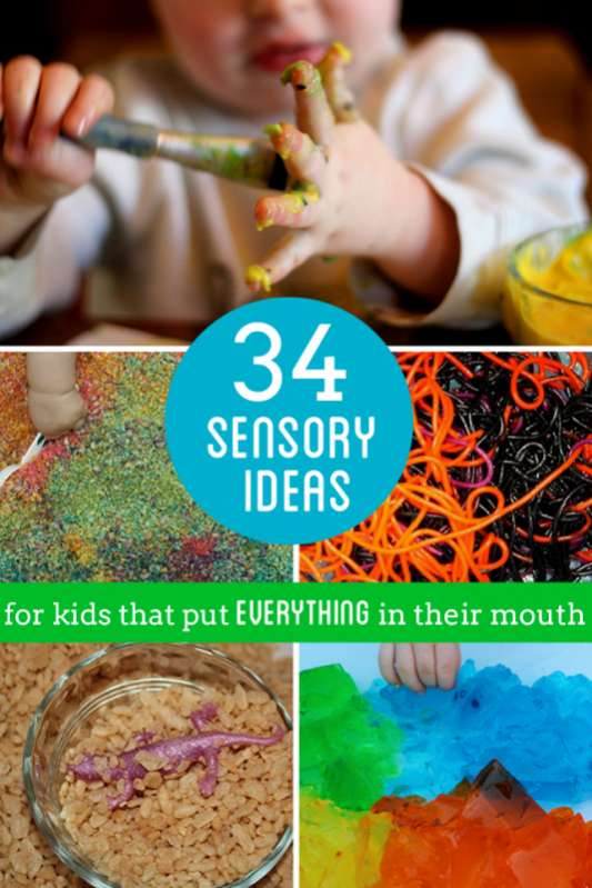 Activities for 18 month olds 30 sensory play ideas for kids especially babies and toddlers that put everything in negle Gallery