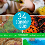 34 Edible Sensory Play Ideas For Kids That Put Everything in Their Mouth