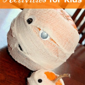 40 pumpkin activities, decorating, and learning to do with the kids