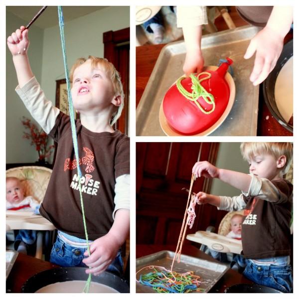 Yarn Craft for Kids: A Circle Garland!