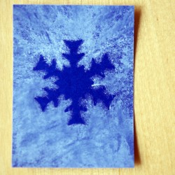 Watercolor Snowflakes From Early Learning On Mom Trusted Snowflake Resist Art