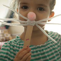 Bunny Nose & Whisker Craft for Kids