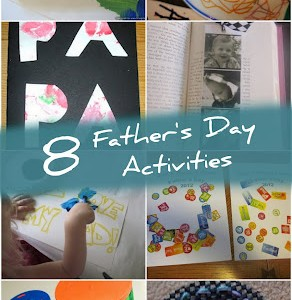 8 Father's Day Activities the Kids can make Dad