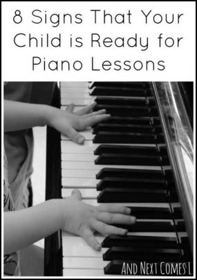 When is a Child Ready for Piano Lessons? from And Next Comes L