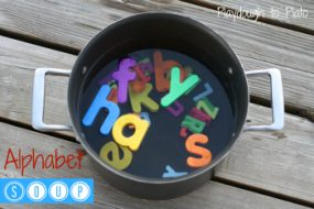 Alphabet Soup from Playdough to Plato