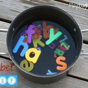 Alphabet Soup to Learn Letters